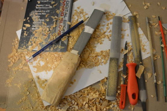Carving and filing