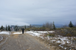 cross country hiker