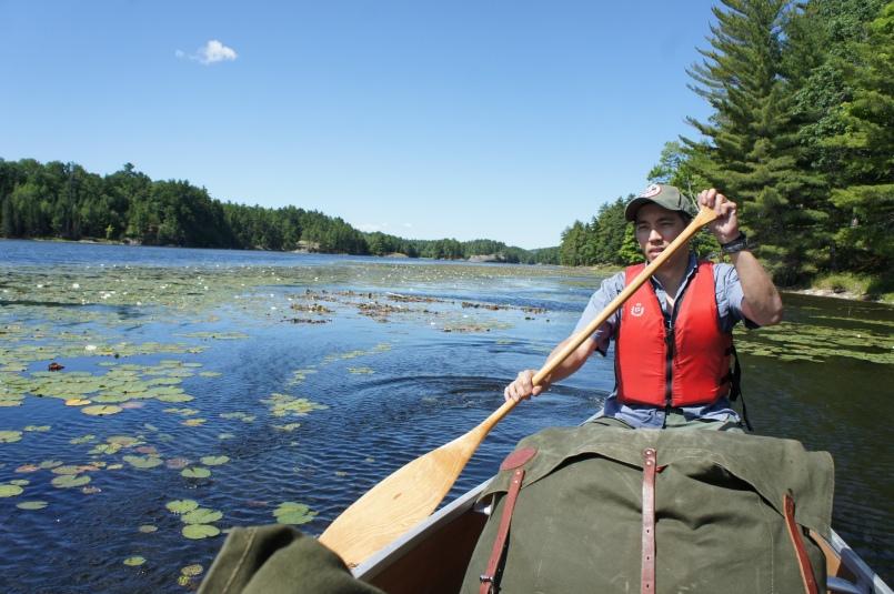 Beaver tail paddle