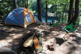 Campsite #32, OSA lake