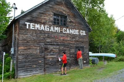 old wood canvas canoe shop