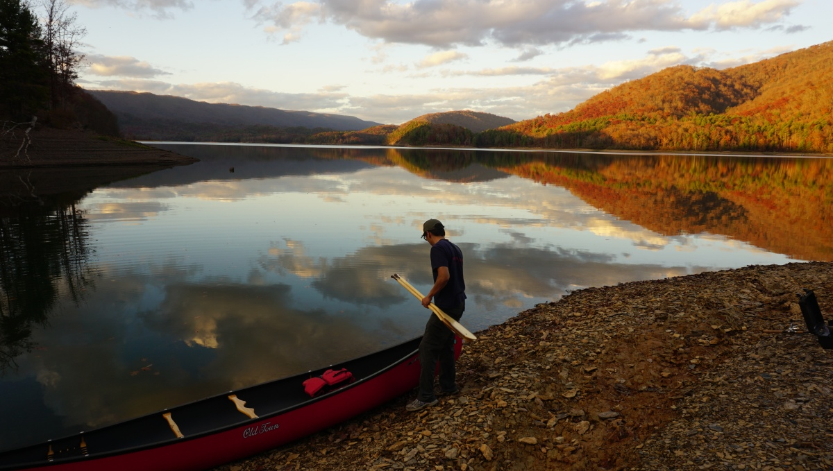 Lake Moomaw in the Fall - George Washington National Forest, VA