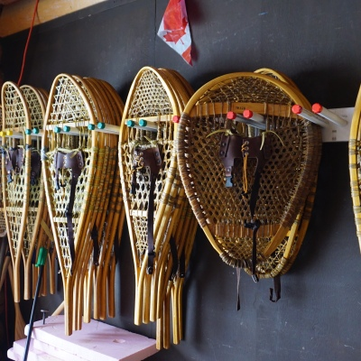Different snowshoes for different environments