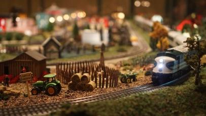 Trains at Lewis Ginter Botanical Garden