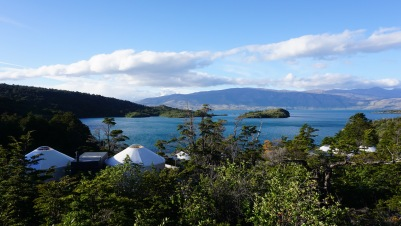 Patagonia Camp sits on Lake Torro