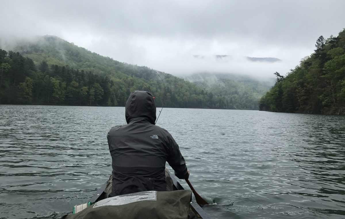 Canoe Camping in the Virginia Mountains