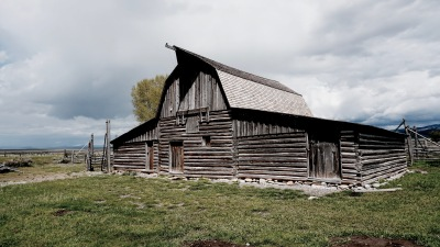 Mormon row is one of the most photographed sites of the Tetons