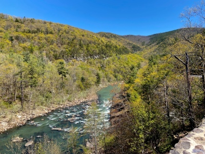 More views from Route 39 of the Maury River